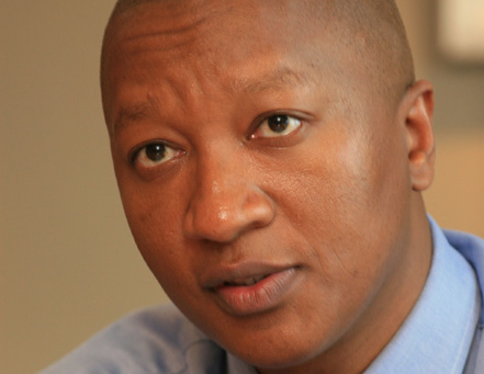 Sisa Ngebulana, founder and CEO of JSE-listed Rebosis Property Fund. Image: Moneyweb
