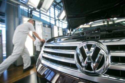 Volkswagen South Africa says it will introduce a third shift from April to meet demand. Picture: Bloomberg