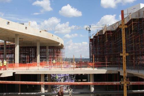 Level two of Mall of Africa which will be occupied by fashion retailers., mall of africa