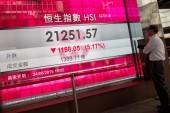 Hong Kong share index tops key level