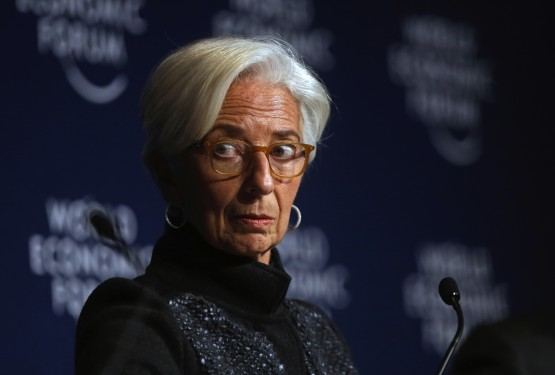 Christine Lagarde says in a statement that her resignation is effective from September 12. Picture: Bloomberg