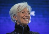 Christine Lagarde on what makes her laugh