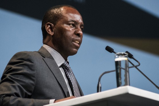 Mosebenzi Zwane, South Africa's mineral resources minister. Picture: Bloomberg