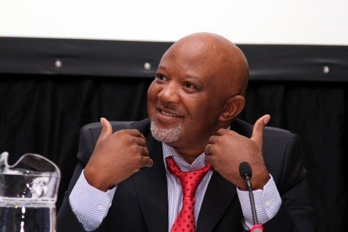 Former deputy finance minster Mcebisi Jonas was speaking at the launch of his book 'After Dawn'. Picture: Moneyweb