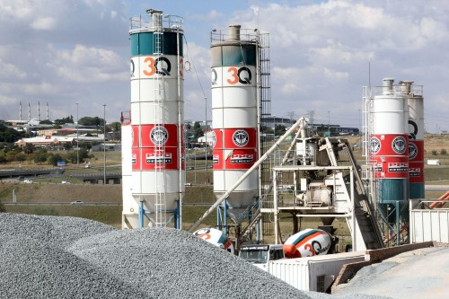 Cement sales picked up in the second quarter after a more than 35% decline in Q1. Image: Moneyweb