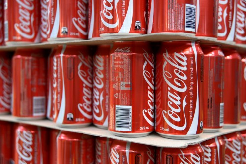 Coca-Cola shares rose almost 1% on Wednesday. Picture: Bloomberg