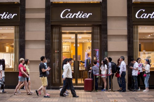 Richemont & British American Tobacco among the gainers on the day. Picture: Billy HC Kwok/Bloomberg