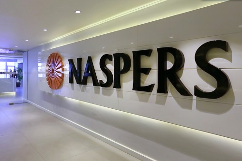 Multinational media giant Naspers expects earnings to soar. Picture: Bloomberg