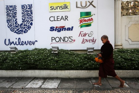Unilever seeks to appease investors protesting Dutch move