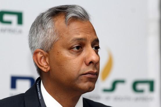 Anoj Singh, former Eskom CFO. Picture: Moneyweb