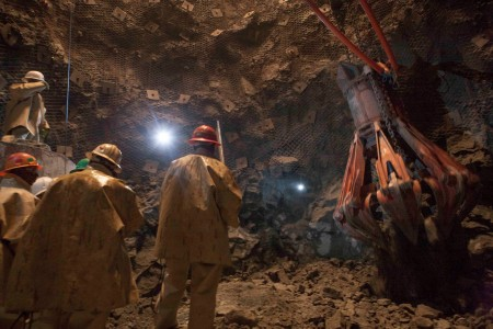 From human rights disaster to world class mine