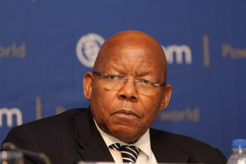 Ben Ngubane, chairman of South Africa's state power utility Eskom Holdings