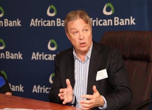 African Bank CEO Brian Riley