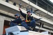Police break up anti-immigrant protests