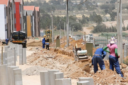 The state's tendency to underspend on housing budgets means some R400m will be returned to National Treasury – while the housing backlog, estimated at up to 4m units, continues to grow. Image: Supplied