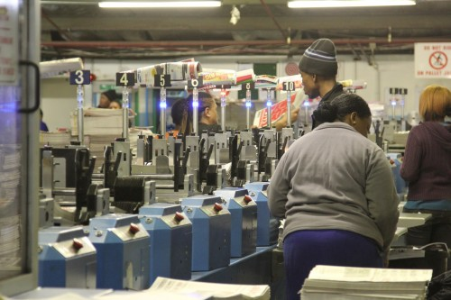 Its printing presses are still clacking away, but the group is increasingly investing in online and packaging businesses. Image: Moneyweb