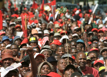 South Africa unions reject government attempt to renegotiate pay