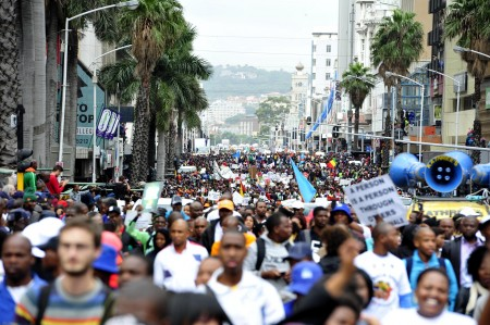 Protest ahead of Zuma's state-of-the-nation speech