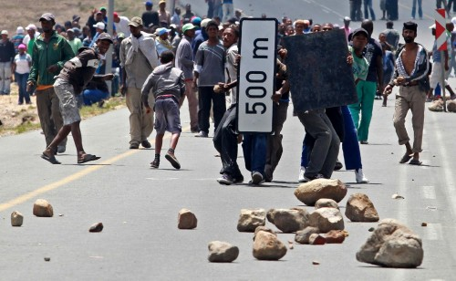 The cost of the plastic industry strike now exceeds R100m. Picture: Nardus Engelbrecht, Sapa