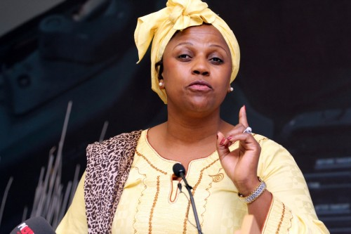 Dudu Myeni was Zuma's 'confidant and political ally', according to mysterious outsider Nicholas Linnell. Image: Moneyweb