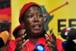 Malema rallies poor pledging land, jobs, wifi