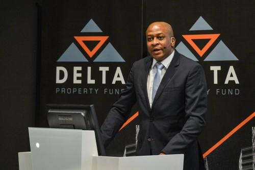 Sandile Nomvete, the now ex-CEO of Delta Property Fund. Image: Supplied