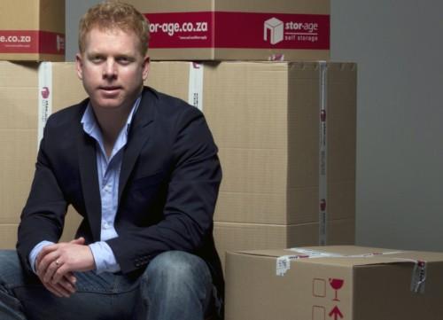 Stor-Age CEO Gavin Lucas.
