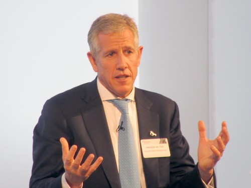 Hendrik du Toit, CEO of Ninety One, says the board believes that the AGM is an especially important event for small shareholders and that they could get 'crowded out' if the media attend. Image: Moneyweb
