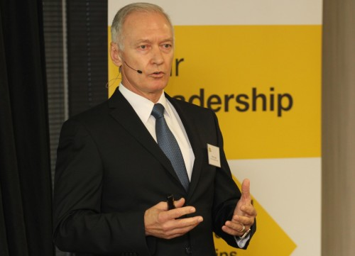 Murray & Roberts CEO Henry Laas. Picture: Moneyweb
