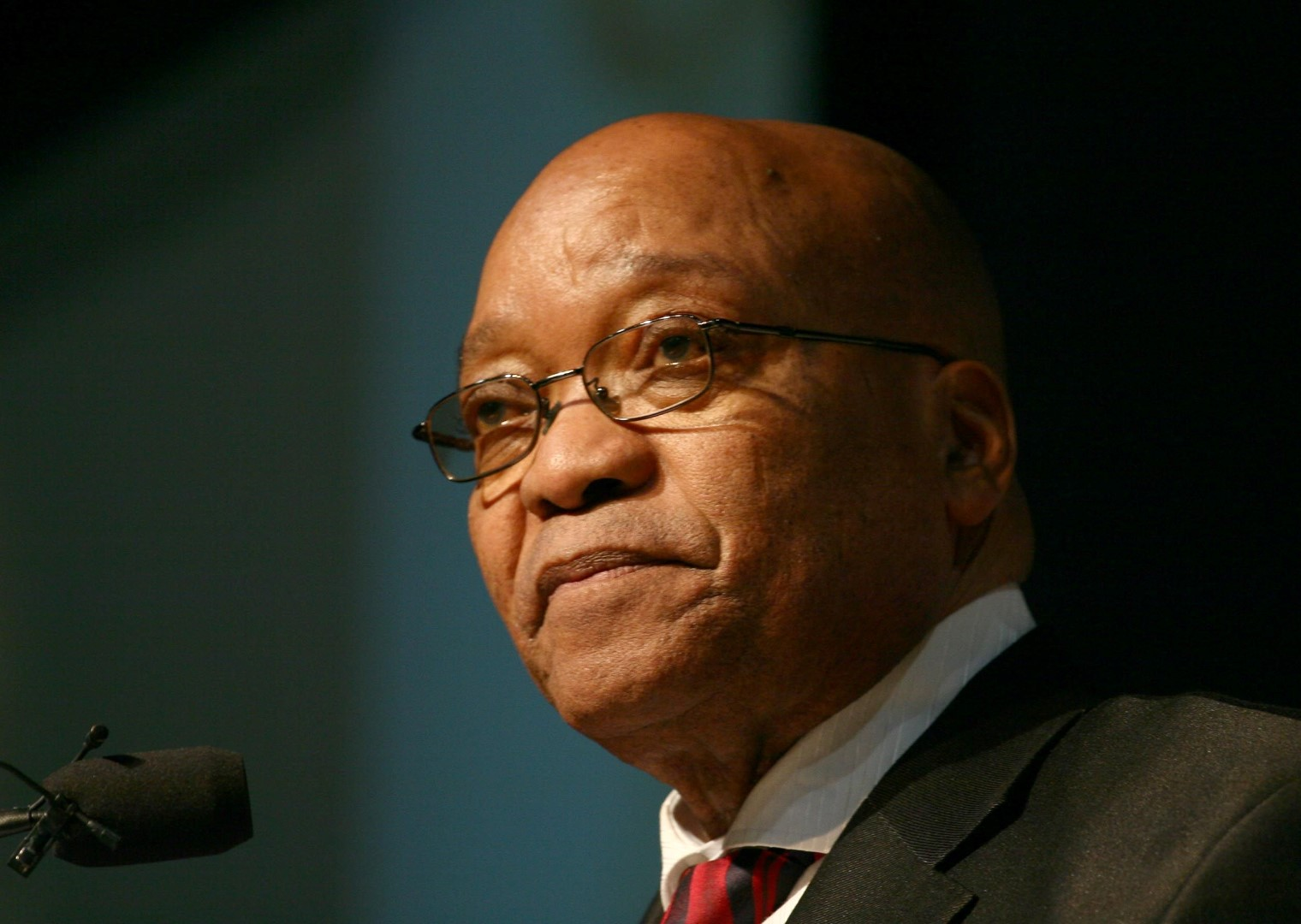 Zuma says black South Africans must fight for economic progress