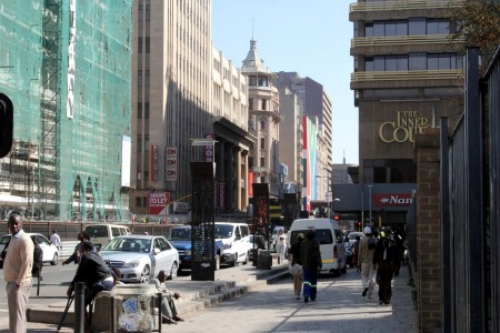 `Shock-and-awe' campaign planned in Johannesburg inner city