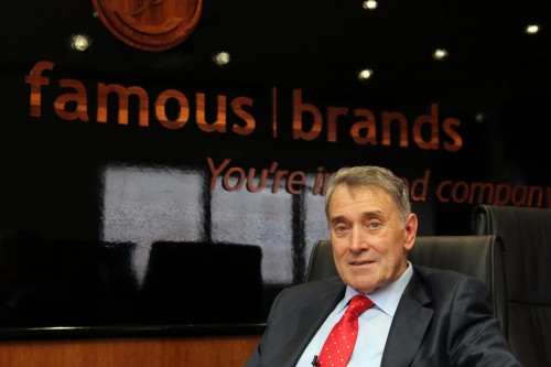 Image result for Chief Executive Darren Hele said Famous Brands