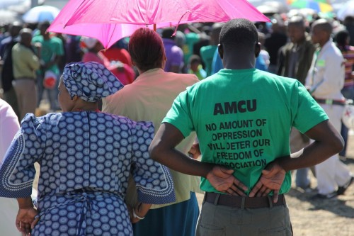 Court blocks mine union Amcu plans for industry-wide strike - Moneyweb