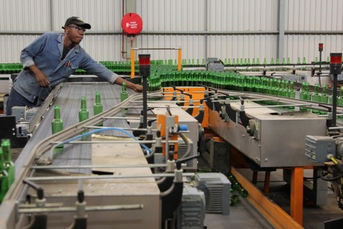 Nampak packaging company factory. Picture: Bloomberg