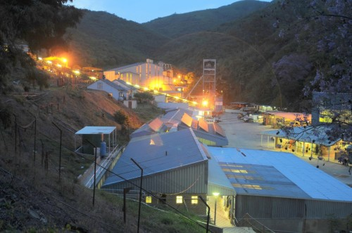 The Pan African Resources operation in Barberton in Mpumalanga. Image: Supplied