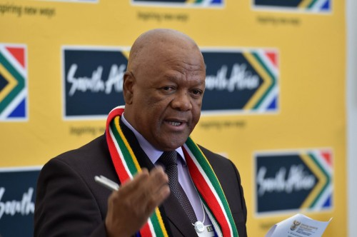 Minister of Energy, Jeff Radebe. Picture: GCIS