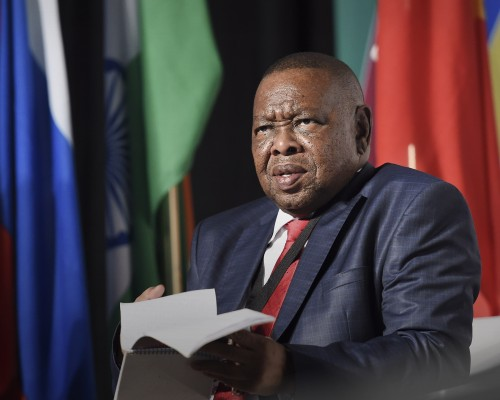 Minister of Higher Education Blade Nzimande