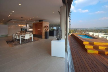 Inside Katherine & West apartments in Sandton.  Katherine & West  Image: Supplied
