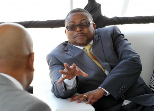 Transnet CEO Siyabonga Gama. Picture: Moneyweb