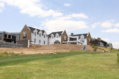 The residential component of Steyn City.