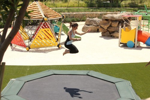 The development boasts many parks and playgrounds.