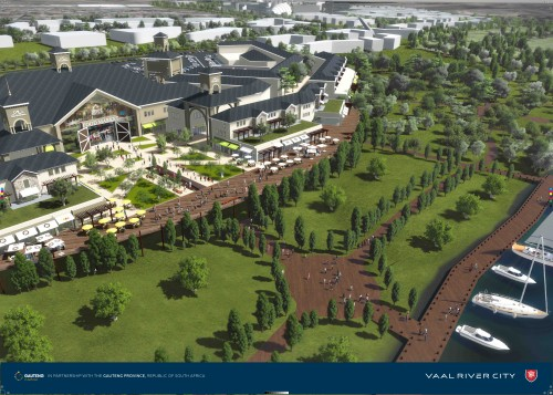 Vaal River City is a mixed-use development which is one of five new corridors identified by the Gauteng Provincial Government, which is set to create new economic nodes, cities and industries.