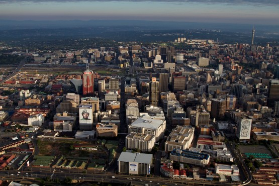 Johannesburg is one of four cities globally taking part in entrepreneurship competition, Journey Re.