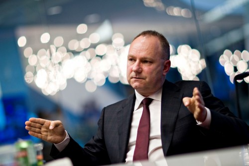 Bucking the trend: Anglo American CEO Mark Cutifani says the group has poured R300bn into local projects over the past decade. Image: Daniel Acker, Bloomberg News