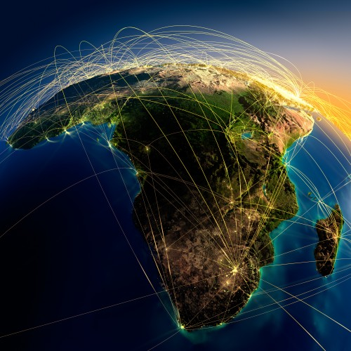 The courting of Africa continues … but its nations are anxious for approval and often seen as easy pickings. Image: Shutterstock
