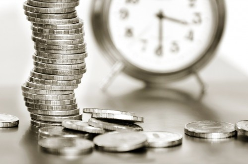 Time, investing, money, savings, shares, retirement, time, coins