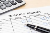 SA's budget as a monthly household budget
