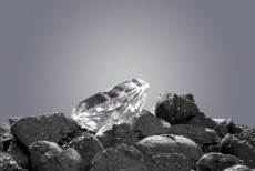 A 20-carat blue diamond is sold for almost $15m