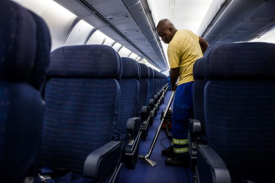 SAA has been in business rescue since December 2019 and the hopes of rescuing the airline have been dimmed by the Covid-19 global pandemic. Image: Waldo Swiegers/Bloomberg