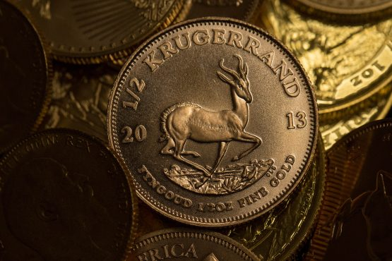 Around 60m Krugerrands are hidden in safes and cupboards or being actively traded around the world. Picture: Bloomberg